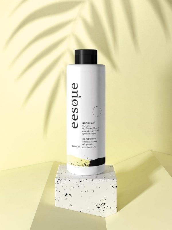 Μαλακτική κρέμα μαλλιών με εκχύλισμα ιβίσκου, πρωτεΐνη μεταξιού και προβιταμίνη Β5